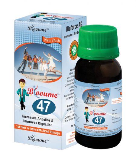 Blooume 47 Bio Alfa Tonic increases appetite, improves digesion