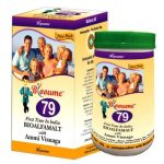 Blooume79 BioAlfa Malt with Ammi-Visnaga, improves digestion appetite, helps Increase Weight In under Weight Patients