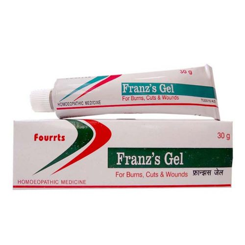 Fourrts Franz's Gel for Burns, Cuts, Wounds, Buy online get