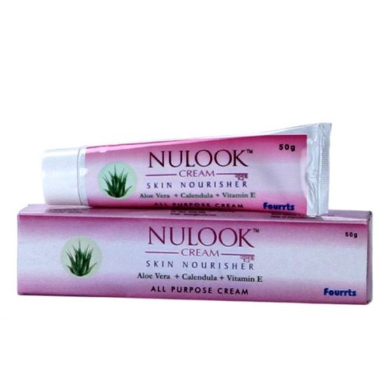 Fourrts Nulook nourishing skin cream with Calendula, Aloe Vera, VitK, best night cream in India