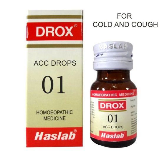 Haslab DROX 1 ACC drops for cough & Cold