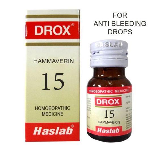 Haslab Drox-15 Hammaverin- Anti Bleeding drops