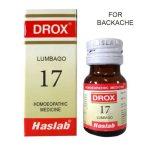 Haslab Drox-17 Lumbago for Backache