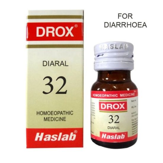 Haslab Drox-32 Diaral (for Diarrhoea)