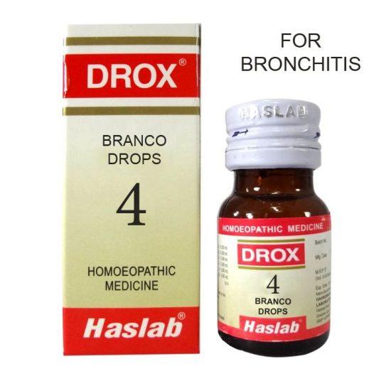 Haslab Drox-4 Branco Drops for Bronchitis