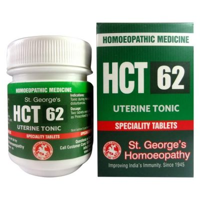 St.George HCT NO 62-UTERINE TONIC