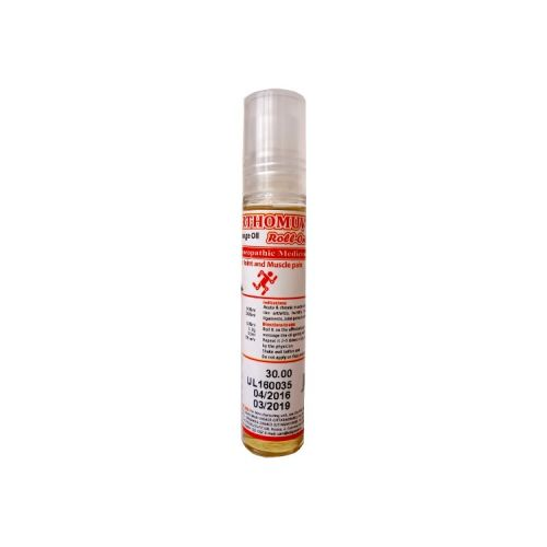 SBL Orthomuv Massage oil pain relief Roll On with Arnica Montana, Cantharis