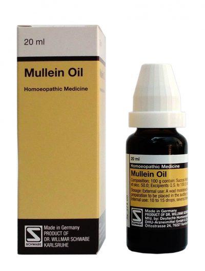 Buy Schwabe German Mullein Oil for Earaches, Tinnitus, Hard