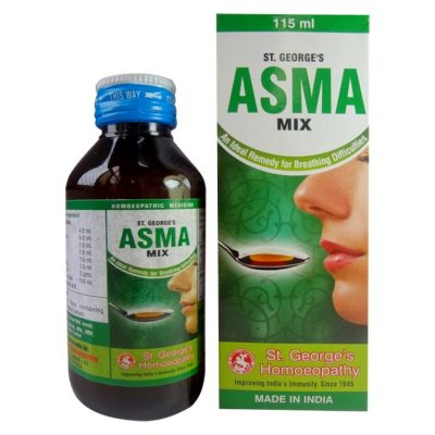 St George Asma Mix - An Ideal Remedy for Breathing Difficulties