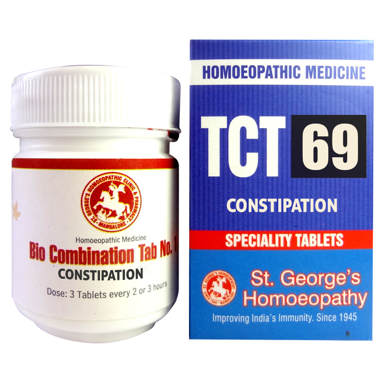 St George TCT 69 Homeopathic Tissue Complex Tablets for