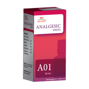 Allen A01 Analgesic Drops for headache, body pain, Neuralgic Pains