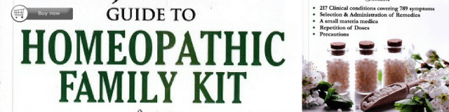 Banner on Homeopathy home kit