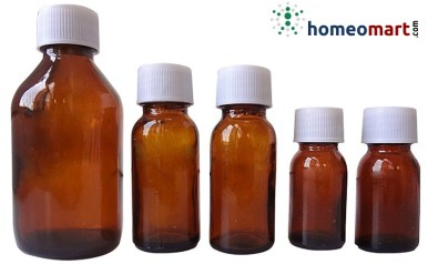 homeopathic round amber glass liquid bottles, homeopathy packaging materials