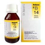 Dr.Bakshi's B14 Renal Homeopathy Drops for Kidney stones, UTI