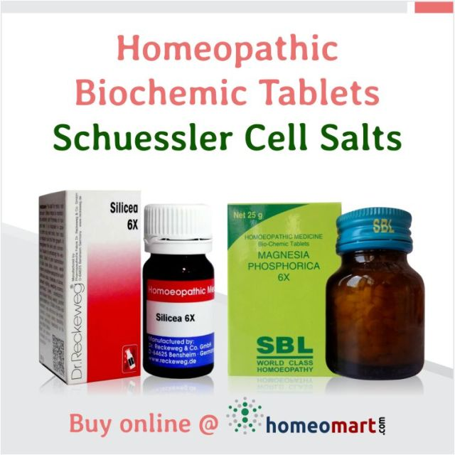 Biochemic Tablets, Schuessler Cell Salts in Homeopathy