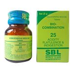 SBL Homeopathy Bio-Combination No.25 For Acidity Flatulence And Indigestion