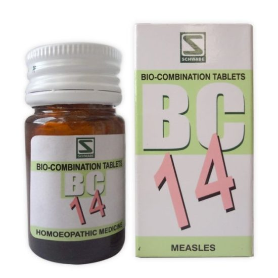 Schwabe Biocombination BC14 Tablets for Measles