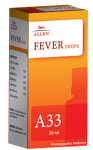 Allen A33 Homeopathy Fever Drops