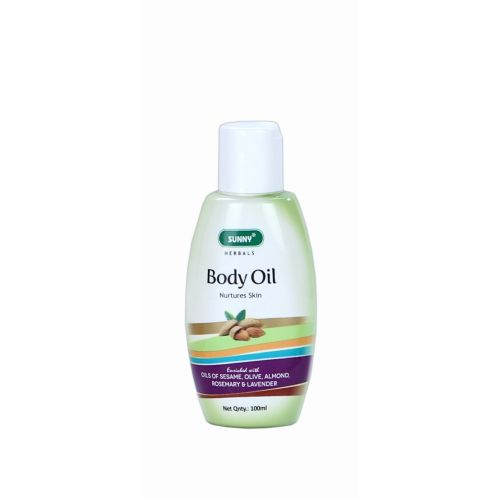 Baksons SuBaksons Sunny Herbals Body Oil with Olive Oil, Sesame, Almond etc. Nurtures skin
