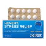 Hevert stress relief German Homeopathic medicine for tension anxiety stress relief tablets stress treatment at home anti stress medication