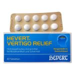 Hevert Homeopathy vertigo relief medicine. Buy Online