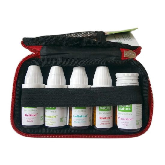Schwabe Mama Natura Kit. Children medicine pack, immunity, cough, cold, flu, rhinitiis