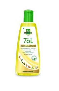 Schwabe B and T 7oL Nourishing Scalp and Hair Care Oil with Arnica, Brahmi, Bhringraj