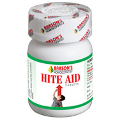 Baksons Hite Aid Tablets - Homeopathic Height and Growth