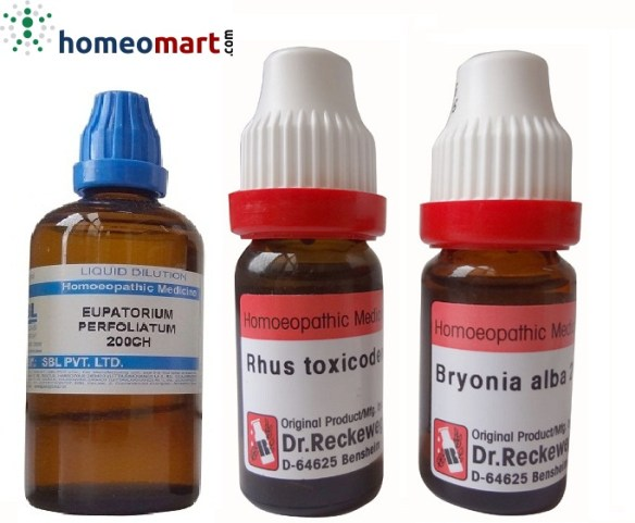 Homeopathy Medicines for Chikungunya, buy online get upto 15