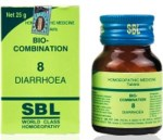 SBL Biocombination 8 (BC8) Tablets for Diarrhoea, Loose motions