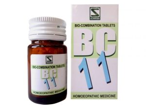 Schwabe Biocombination No.11 Tablets for Fever, anti pyretic homeopathy medicine