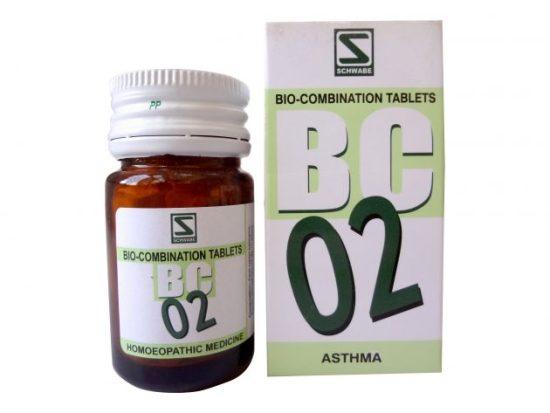 Schwabe Bioplasgen/Biocombination No. 2 Tablets for Asthma