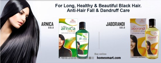 Arnica Hair Oil images, Arnica Gold, Jaborandi Gold from Allen