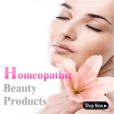 Homeopathy Beauty products, skin and hair care cosmetics products