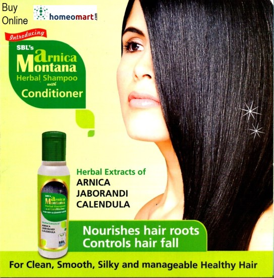 Homeopathy Shampoo SBL Arnica Montana with Arnica, Jaborandi, Calendula
