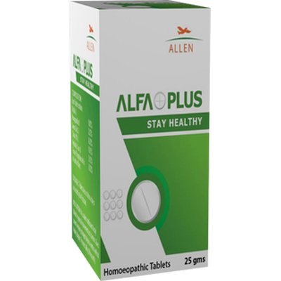 Allen Alfaplus Homeopathy Tablets for overall Health