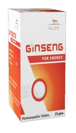 Allen Ginseng Tablets for Energy