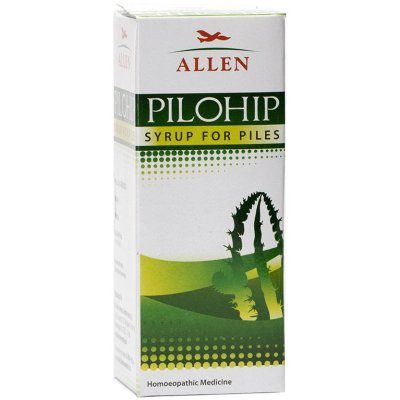 Allen Pilohip Syrup for Piles, Hemorrhoids