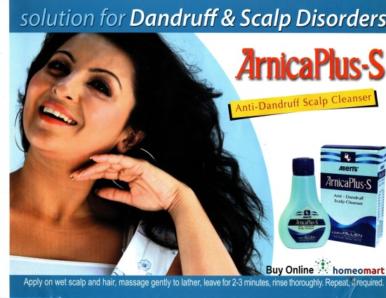 Arnica anti dandruff scalp cleanser