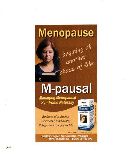 Homeopathy menopause medicine