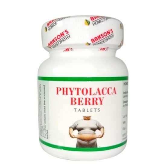 Bakson Phytolacca Berry Tablets - Safe and Natural Way to Combat Obesity