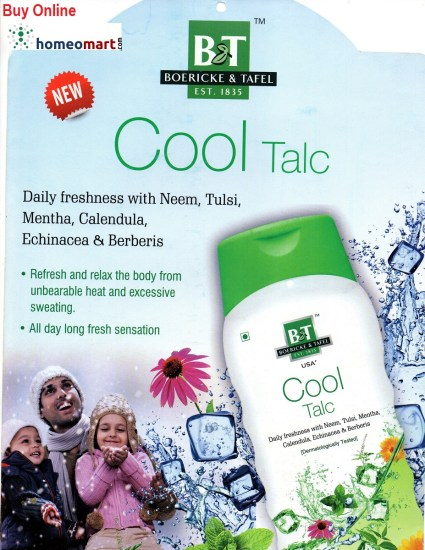 Best Cool Talc with Neem Tulsi Mentha, Calendula