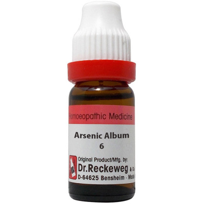Dr Reckeweg Arsenic Album 3X, 6C, 30C, 200C, 1M, 10M, 50M ,CM. 11ml