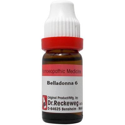 Dr Reckeweg Belladonna 3X, 6C, 30C, 200C, 1M, 10M, 50M, CM. 11ml