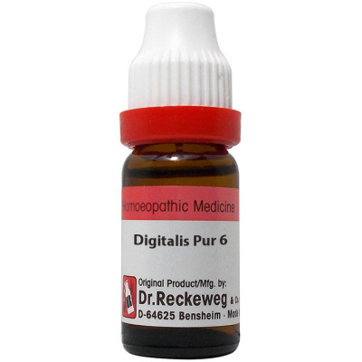 Dr Reckeweg Digitalis Purpurea 3X, 6C, 30C, 200C, 1M, 10M, CM. 11ml