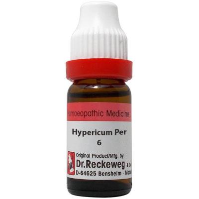 Dr Reckeweg Dilution Hypericum Perforatum 6C, 30C, 200C, 1M, 10M, 50M, CM. 11ml