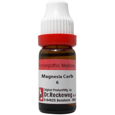 Dr Reckeweg Dilution Magnesia Carbonicum 6C, 30C, 200C, 1M, 10M. 11ml