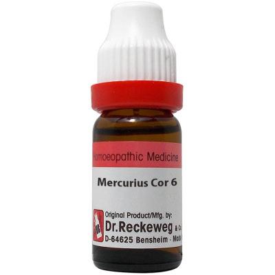 Dr Reckeweg Dilution Mercurius Corrosivus 6C, 30C, 200C, 1M, 10M, 50M, CM. 11ml