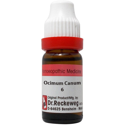 Dr Reckeweg Dilution Ocimum Canum 6C, 11ml