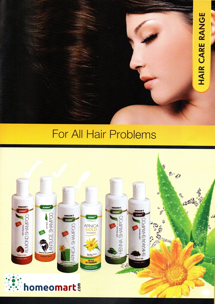 Complete Homeopathy Shampoo List With Conditioner Natural
